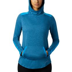 COLUMBIA W`S PLACE TO PLACE HOODIE FATHOM_BLUE