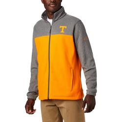 COLUMBIA COLLEGIATE FLANKER III FLEECE JACKET UT_CHARCOAL