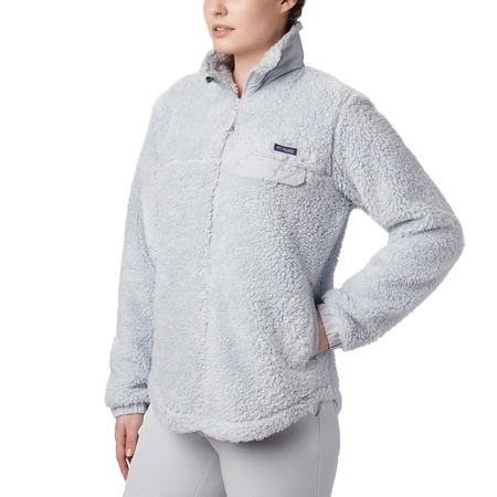 COLUMBIA W`S HARBORSIDE II HEAVY WEIGHT FLEECE FULL ZIP