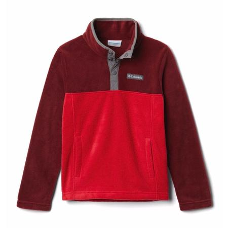 COLUMBIA YTH STEENS MTN 1/4 SNAP FLEECE PULLOVER