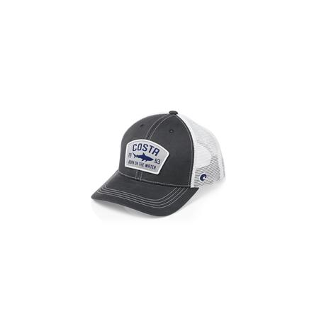 COSTA CHATHAM SHARK TWILL TRUCKER HAT