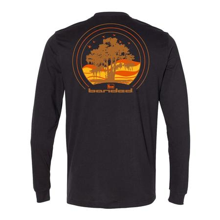 BANDED CYPRESS TREE L/S TEE