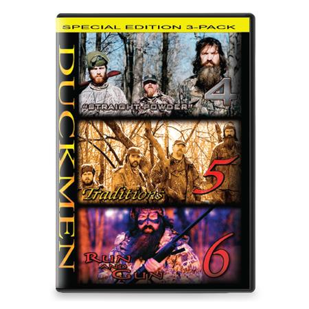 DUCK MEN 4,5,6 DVD COMBO