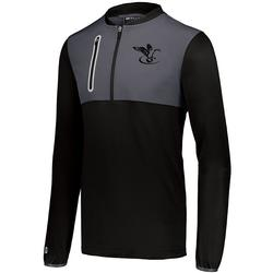 FINAL FLIGHT HYBRID PULLOVER BLACK_CARBON