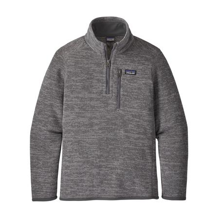 PATAGONIA BOYS` BETTER SWEATER 1/4 ZIP