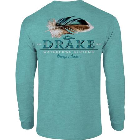 DRAKE DUCK FEATHER L/S T