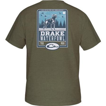 DRAKE YOUTH LAB SILHOUETTE S/S T