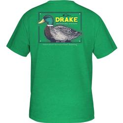DRAKE YOUTH MALLARD DRAKE S/S T IRISH_GREEN