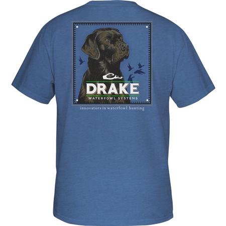 DRAKE YOUTH BLOCK HEAD LAB S/S T