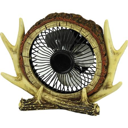 RIVER`S EDGE ANTLER USB FAN