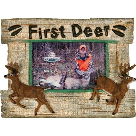 RIVER`S EDGE FIRST DEER PICTURE FRAME