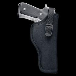 UNCLE MIKE`S NYLON HIP HOLSTER BLACK