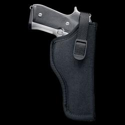 UNCLE MIKE`S NYLON HIP HOLSTER BLACK_AMBIDE