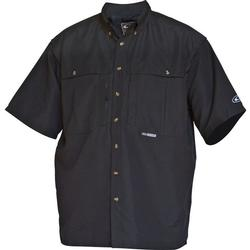 DRAKE S/S CASUAL SHIRT BLACK