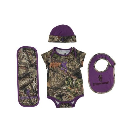 BROWNING BABY CAMO 4 PIECE SET