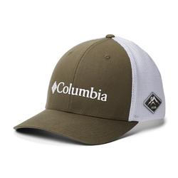COLUMBIA MESH BALL CAP OLIVE_GREEN/WHITE
