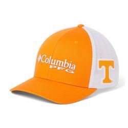 COLUMBIA COLLEGIATE PFG MESH BALL CAP UT_SOLARIZE