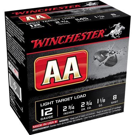 WINCHESTER AA LIGHT TARGET 12GA 4 PACK
