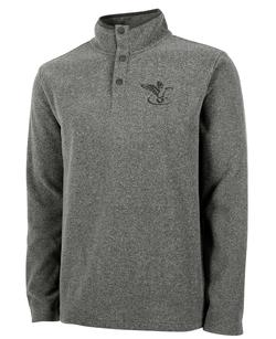 FFO BAYVIEW FLEECE PULLOVER STEEL/CHARCO