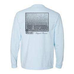 AVERY TRADITIONS CLAYPOOL`S RESERVIOR L/S TEE CHAMBRAY