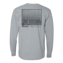 AVERY TRADITIONS CLAYPOOL`S RESERVIOR L/S TEE GRANITE