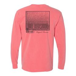 AVERY TRADITIONS CLAYPOOL`S RESERVIOR L/S TEE WATERMELON