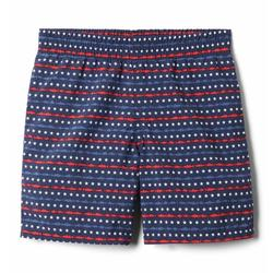 COLUMBIA YTH SUPER BACKCAST SHORT NAVY/AMERICANA