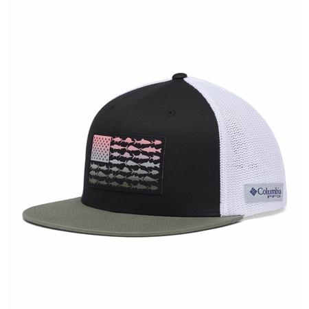 COLUMBIA PFG MESH FLAT BRIM BALL CAP