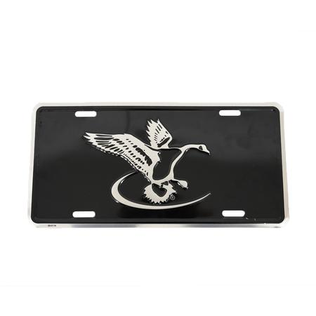 FINAL FLIGHT GOOSE LOGO LICENSE PLATE