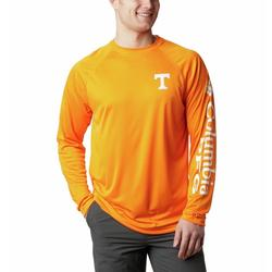 COLUMBIA COLLEGIATE TERMINAL TACKLE L/S UT_SOLARIZE/WHITE