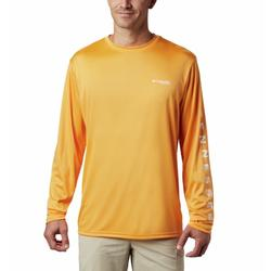 COLUMBIA TERMINAL TACKLE PFG DESTINATION L/S SUMMER_ORANGE