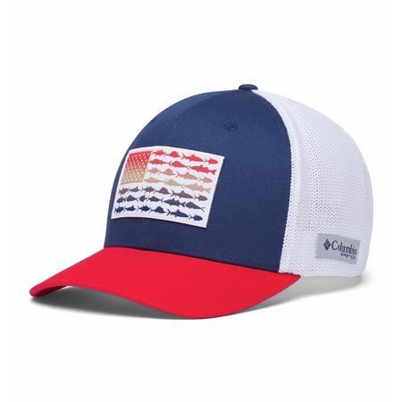 COLUMBIA PFG MESH BALL CAP XXL