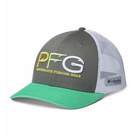 COLUMBIA PFG MESH SNAP BACK HOOKS BALL CAP