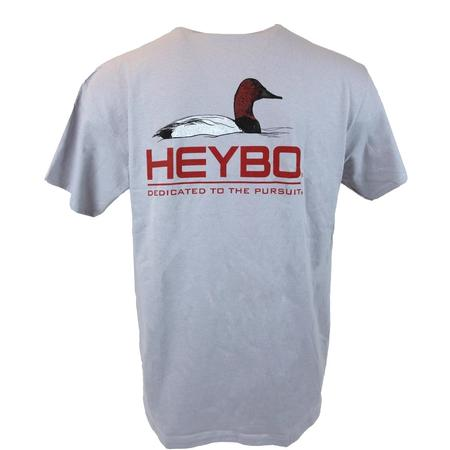 HEYBO CANVAS BACK S/S  T-S