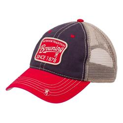 BROWNING TRENTON CAP BLACK/RED