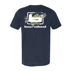 BANDED CRAPPIE DAYS S/S TEE NAVY