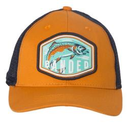 BANDED TROUT SCOUT TRUCKER CAP ORANGE/NAVY
