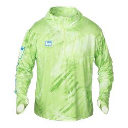 BANDED PERFORMANCE ADVENTURE 1/4 ZIP REALTREE_CHARTREUSE