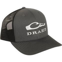 DRAKE MESH BACK CAP BLACK/CHARCOAL
