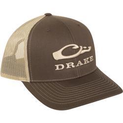 DRAKE MESH BACK CAP BROWN/KHAKI