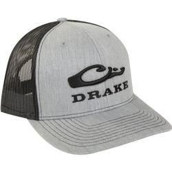 DRAKE MESH BACK CAP HEATHER/BLACK