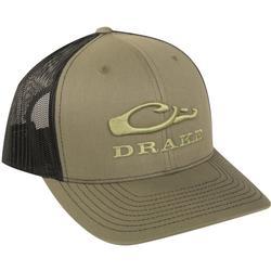 DRAKE MESH BACK CAP LODEN/BLACK
