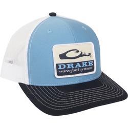 DRAKE WATERFOWL SYSTEMS MESH BACK CAP WHITE/NAVY