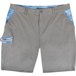 DRAKE DPF KILL SWITCH PERFORMANCE STRETCH SHORTS GRAY/RT_DOLPHIN