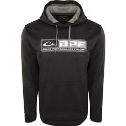 DRAKE PERFORMANCE FISHING HOODIE BLACK/GRAY