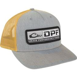 DRAKE DPF 5 PANEL MESH BACK CAP HEATHER/GOLD
