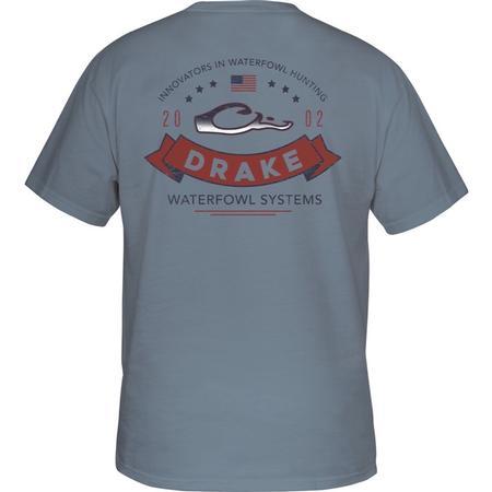 DRAKE RIBBON LOGO S/S T