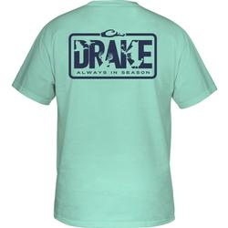 DRAKE ALWAYS IN SEASON S/S T AQUA_SKY