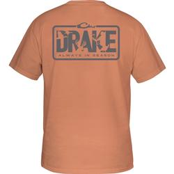 DRAKE ALWAYS IN SEASON S/S T TERRACOTTA