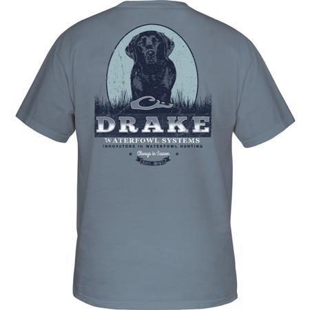 DRAKE BLACK LAB PORTRAIT S/S T